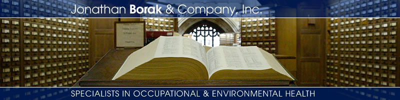 Jonathan Borak & Company, Inc. - Specialists in Occupational and Environmental Health